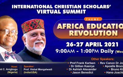 Africa Education Revolution: Virtual Summit April 26/27